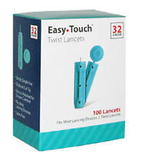832101 32G TWIST LANCET 100 BOX