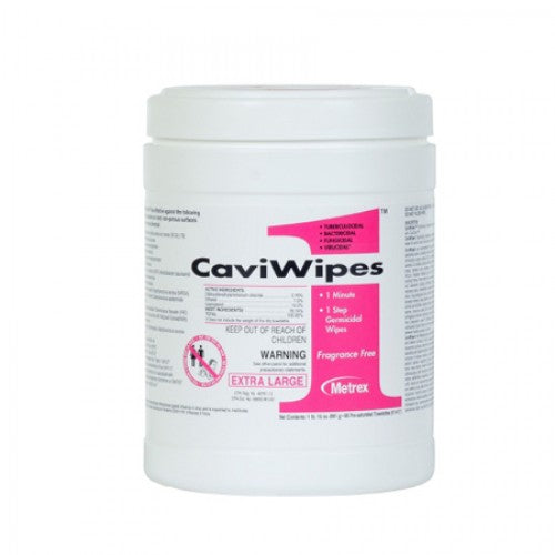 CaviWipes1™ Surface Disinfectant Premoistened Wipe 160 Count Canister - 13-5100
