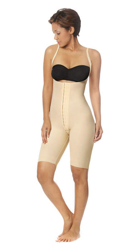 SFBHS-L SFBHS-L FEMALE BODYSUIT HIGH BACK-LARGE-BEIGE