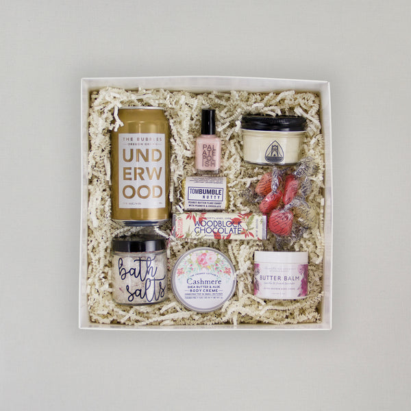 Valentine's Day Spa box treat that someone special to a relaxing night