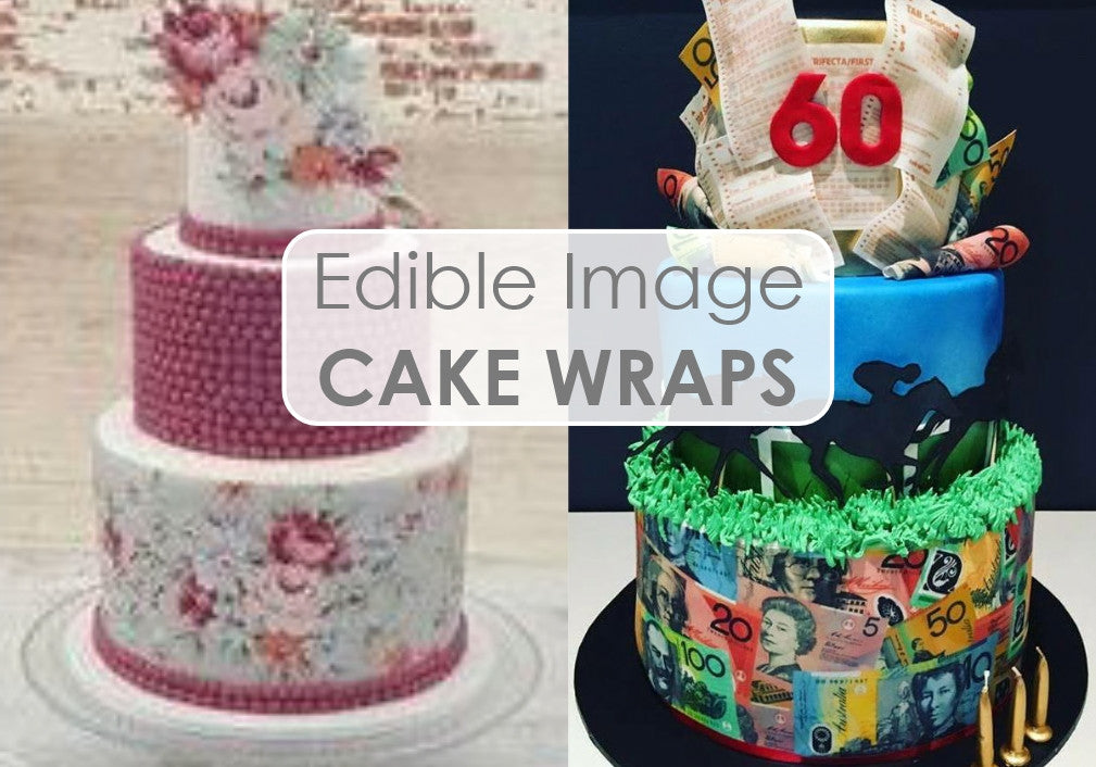 Our Custom Icing Edible Image CAKE WRAPS Have Always Been Very Popular Among Cake Designer Clients And Now