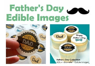 Father's Day Edible Image Collection