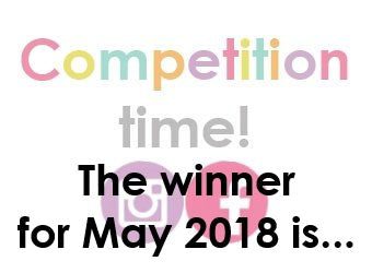 Announcing May's WINNER...