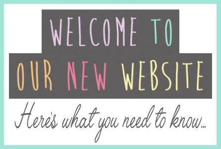 We have upgraded our website!