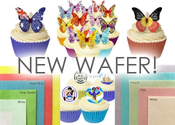 NEW Edible Wafer products!