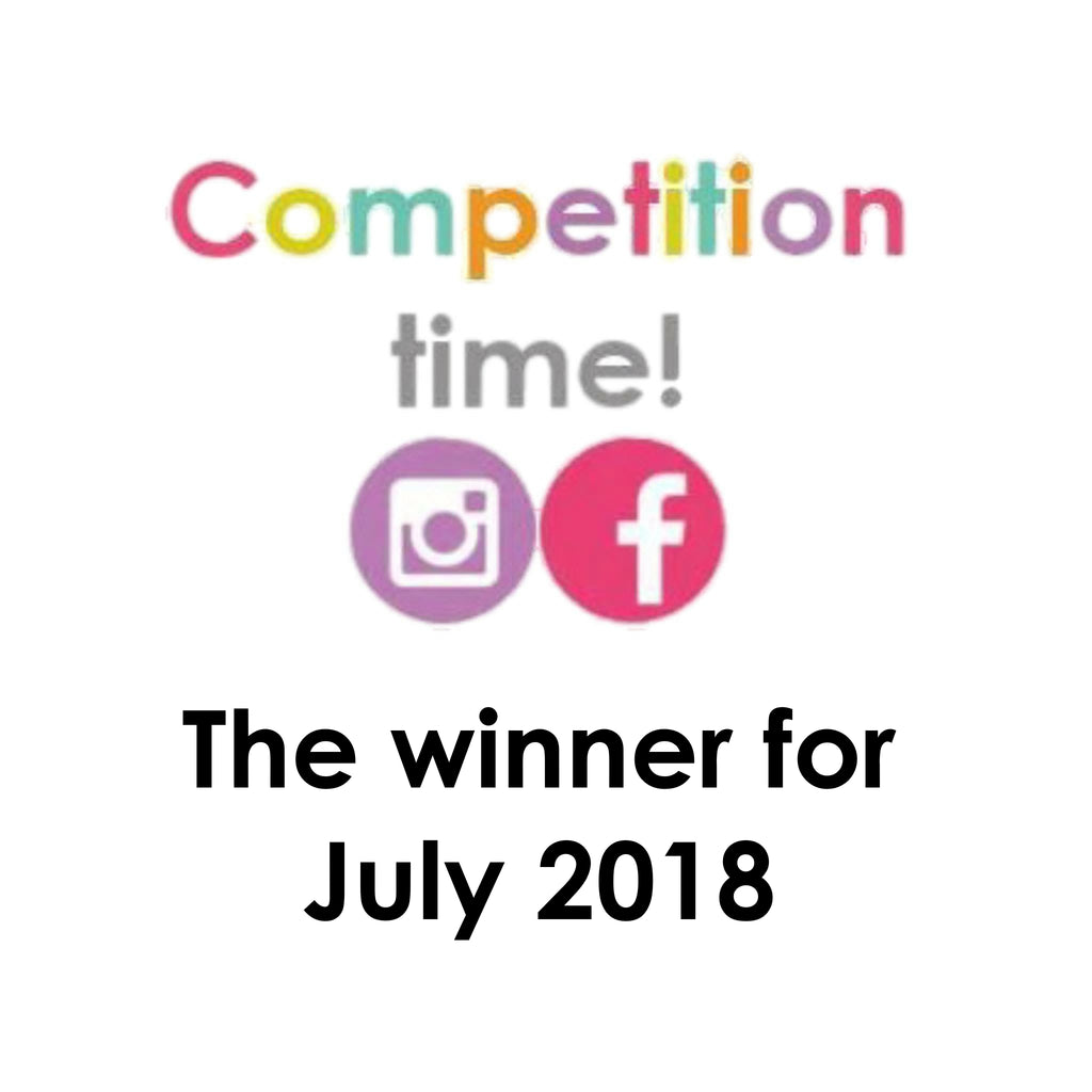 July's competition winner is...