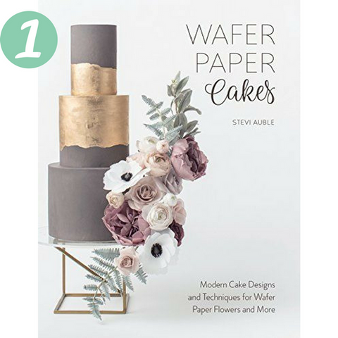 Stevie Auble Book Wafer Paper Cakes