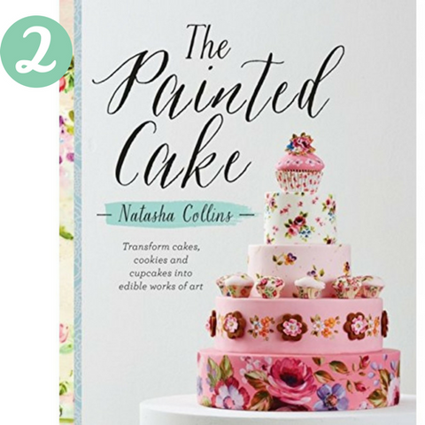 The Painted Cake book Natasha Collins