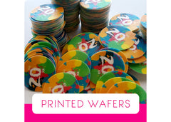 Custom Edible Printed Wafers