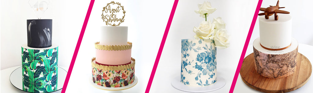 Custom Icing edible image cake wraps