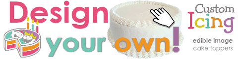 Design Your Own Custom Icing Edible Images