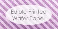 Edible Printed Wafer Paper