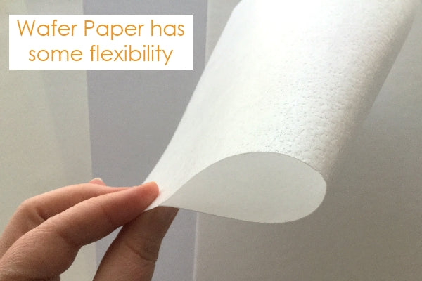 Wafer paper flexibility
