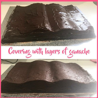 Covered in ganache