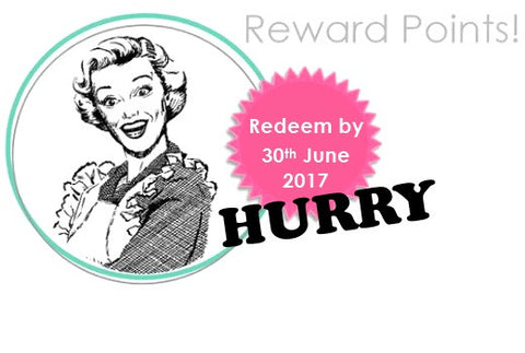 Redeem reward points custom icing