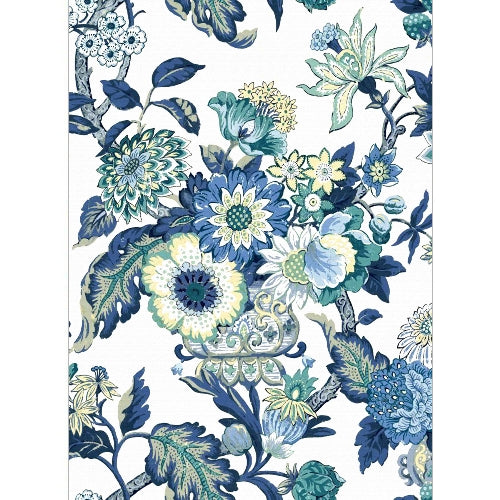Blue Bouquet Edible Printed Wafer Paper A4