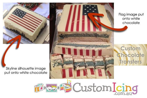 Custom Chocolate Transfer - Supply your image or pattern