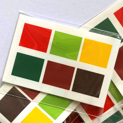 Christmas Edible Watercolour (PYO) Paint Palette (1 piece)
