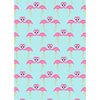 Flamingo Pattern Edible Printed Wafer Paper A4