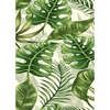 Jungle Leaves Edible Printed Wafer Paper A4