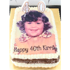 Large (A3) Rectangle Custom Icing Edible Image Cake Topper (40cm x 25cm)