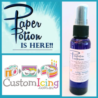 Paper Potion® - Edible Wafer Paper Conditioner - 2 Fl oz/59.15ml bottle