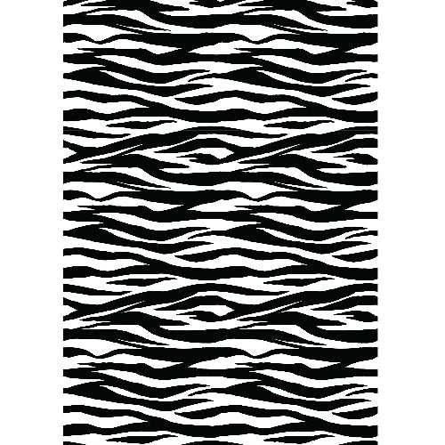 image relating to Edible Printable Paper referred to as Zebra print - Edible Posted Wafer Paper A4