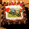 Medium (A4) Rectangle Custom Icing Edible Image Cake Topper