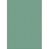 Dark Green Gingham - Edible Printed Wafer Paper A4
