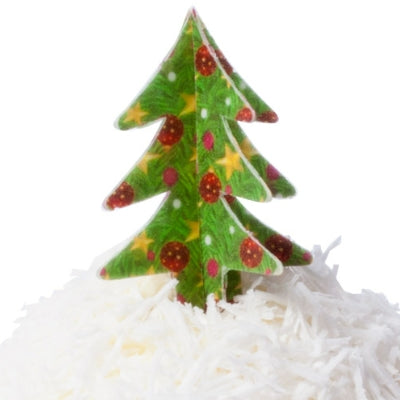 Edible Wafer 3D Christmas Trees - Makes 8