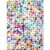 Watercolour Splat Dots Edible Printed Wafer Paper A4