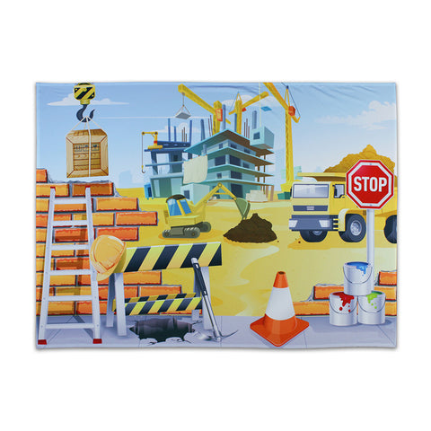 Construction Site Outdoor Backdrop 2 x 1.5m