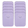 Rib Bib Pack of 10 - Purple