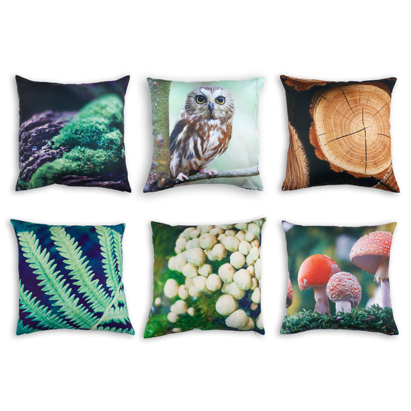 Forest Cushion Covers x6