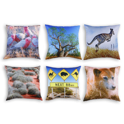 Australian Outback Cushion Covers x6