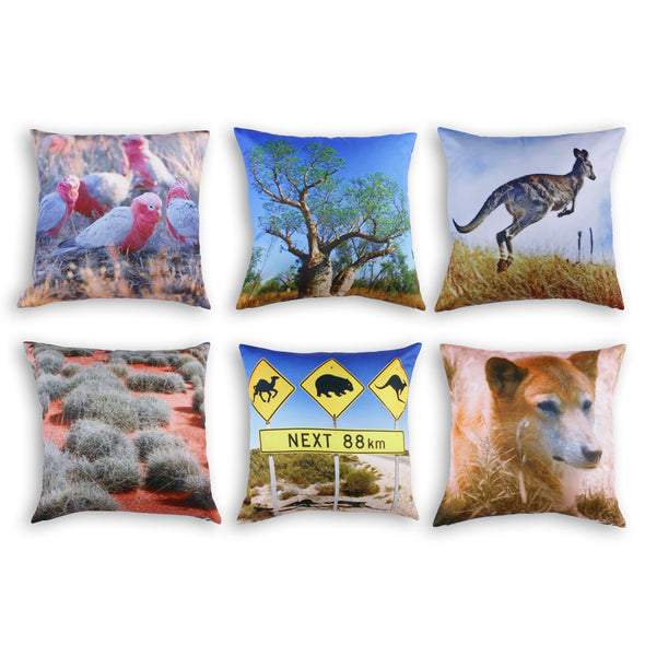 Australian Outback Cushions - Inserts included