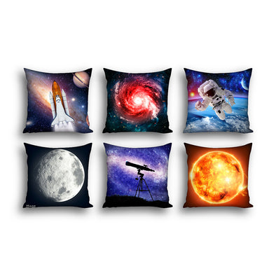 Space Cushion Covers x6