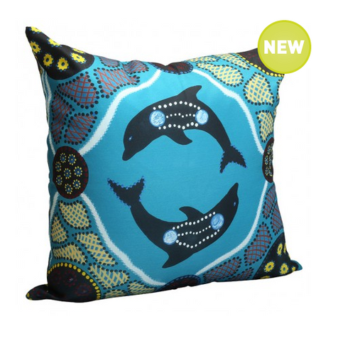 Dolphin Cushion Cover