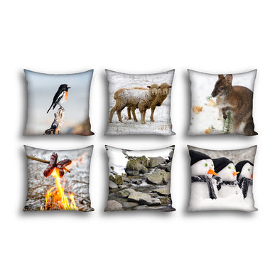 Winter Cushion Covers x6