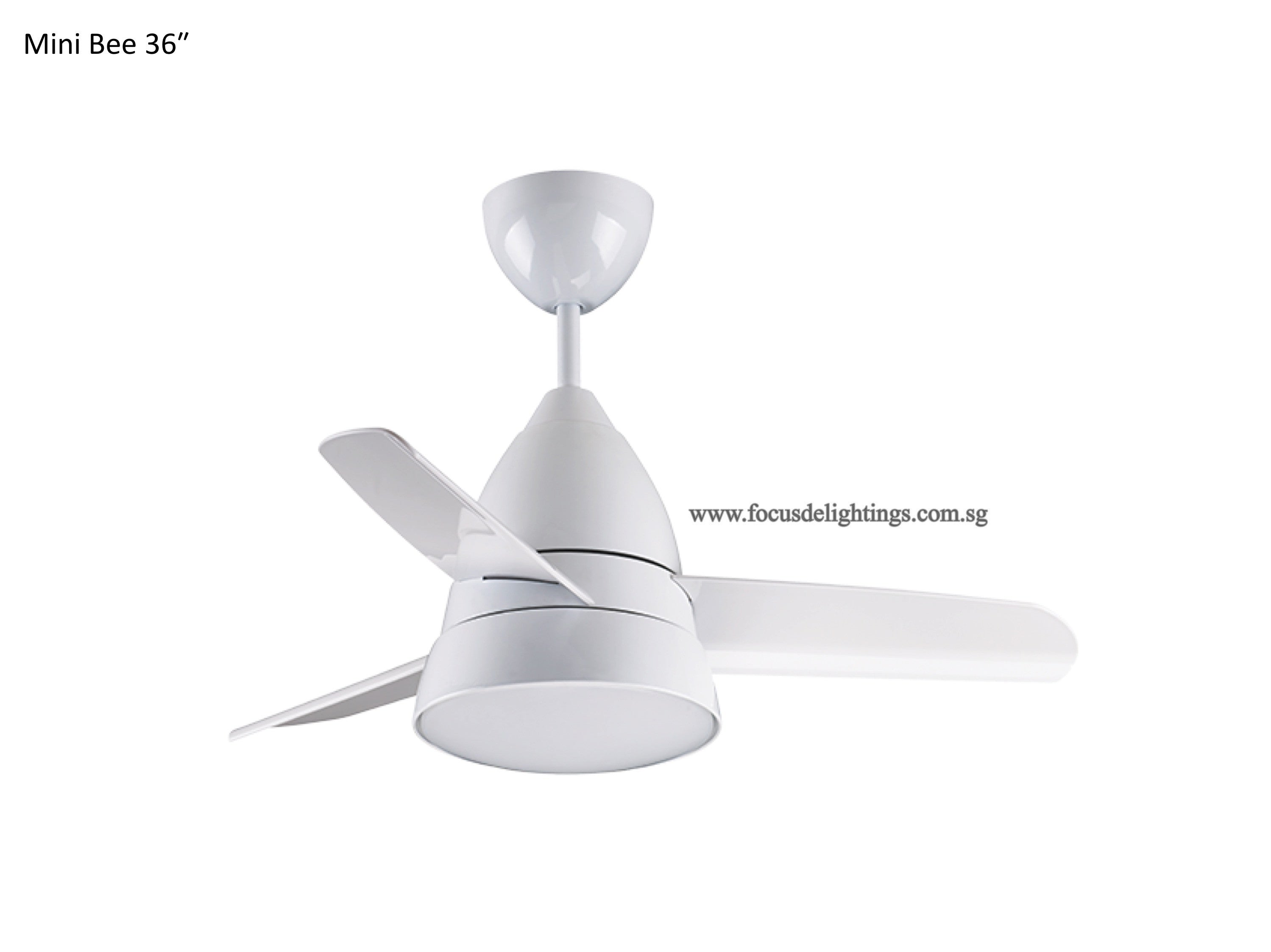 Fanco mini bee 36 ceiling fan focus de lightings fanco mini bee 36 ceiling fan aloadofball Image collections