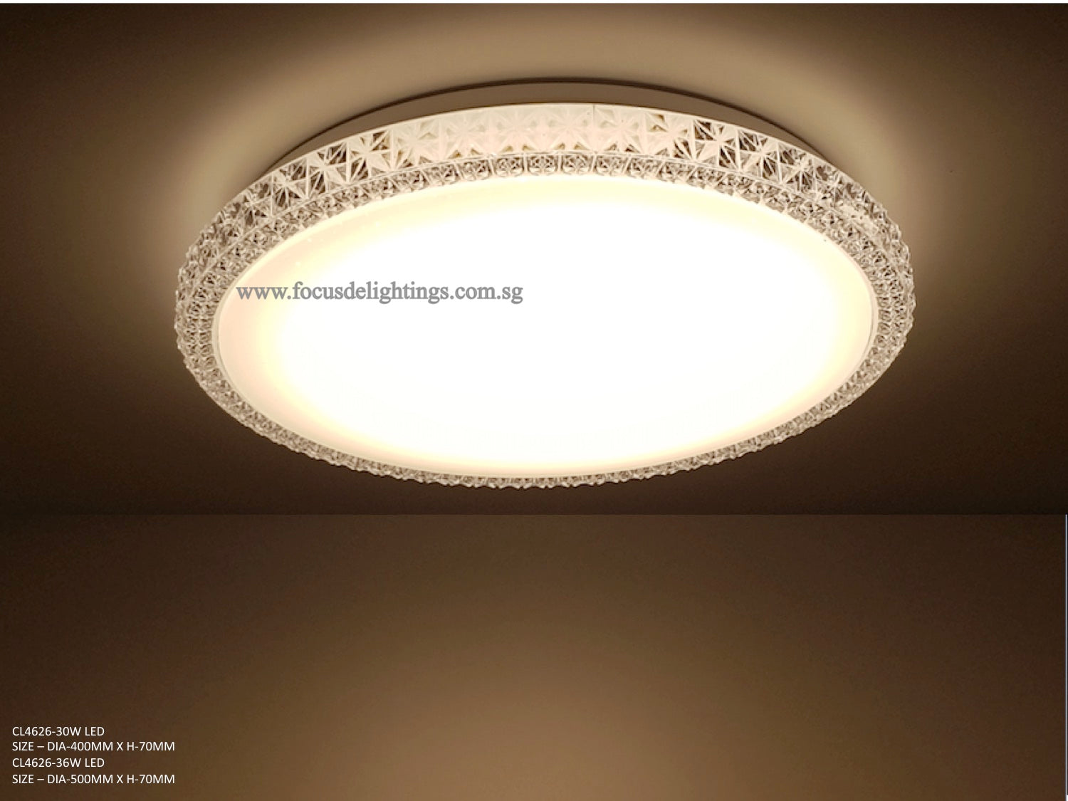 Modern Ceiling Lamp CL4626 (Crystal Starry White)