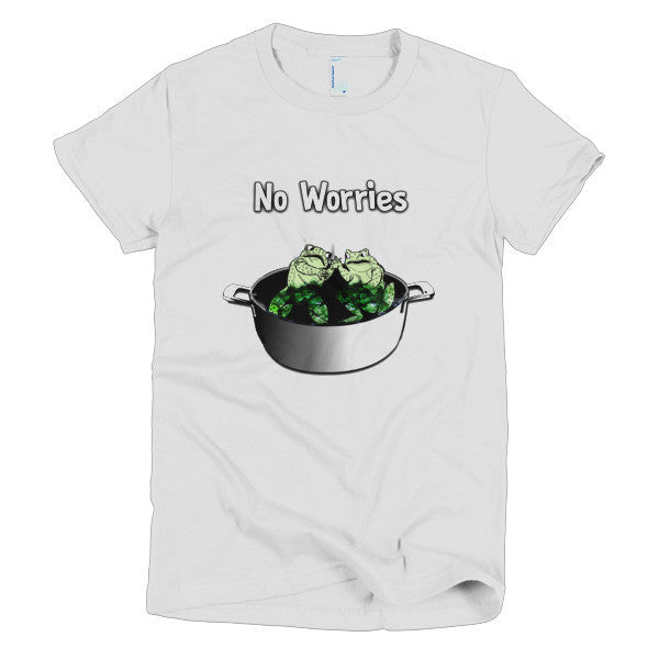 Women's T-shirt - Frogs in a Pan