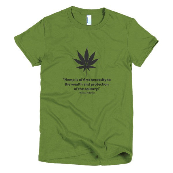 Women's T-shirt - Hemp is a Necessity