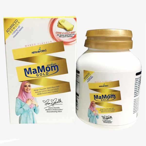 MaMom Milk Booster: Gold
