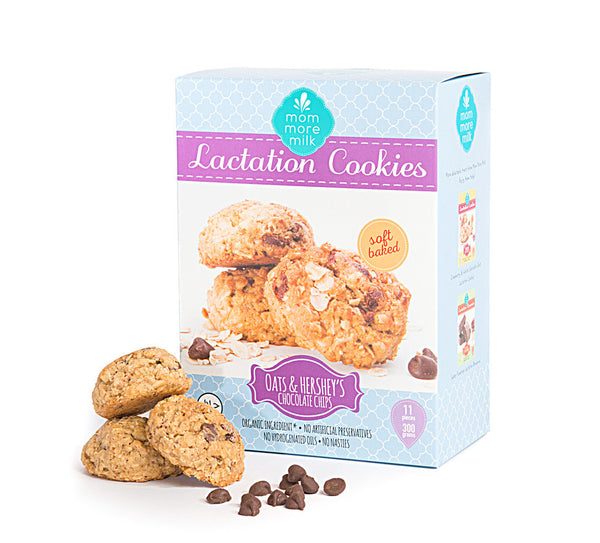 Oats & Hershey's Chocolate Chip Lactation Cookie
