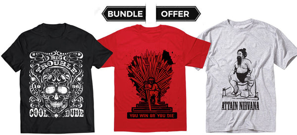 Skull+Game Of Thrones+Nirvana - Graphic Bundle Offer