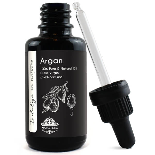 Aroma Tierra Argan Carrier Oil | 100% Pure & Natural | 30ml Front Bottle