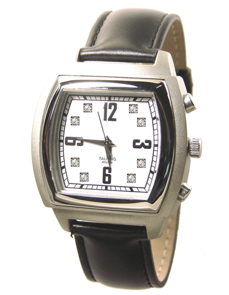 Atomic ( radio controlled ) Plastic talking watch