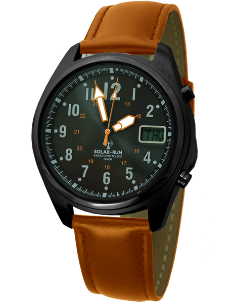 Aviator Solar Radio Controlled Watch I