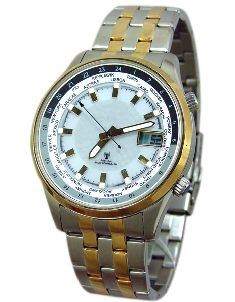 Aviator Solar Radio Controlled Watch II